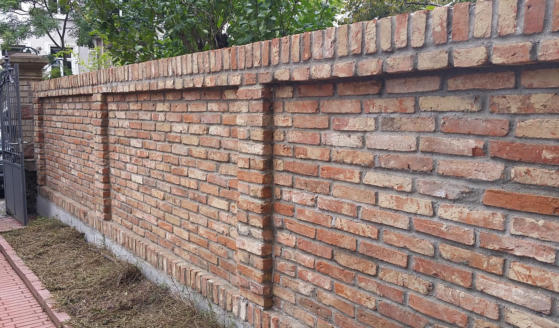 Ausgefallenes eb bau gmbh - Gartenmauer backstein ...